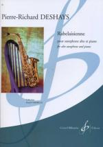 Rabelaisienne - Pour Saxophone Alto Et Piano (For Alto Saxophone And Piano) Sheet Music