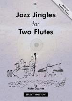 Jazz Jingles For Two Flutes - With CD Backing Tracks Sheet Music