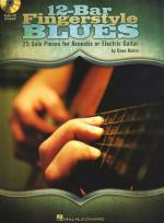 Dave Rubin: 12-Bar Fingerstyle Blues Sheet Music