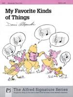 My Favorite Kinds of Things - Sheet Music Sheet Music
