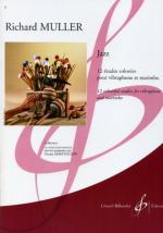 Jazz - 12 Etudes Colorees Pour Vibraphone Et Marimba (12 Colorful Studies For Vibraphone And Marimba Sheet Music