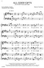 All Good Gifts Sheet Music Sheet Music