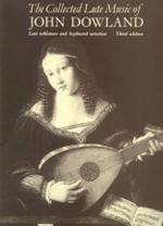 The Collected Lute Music of John Dowland - Book Sheet Music