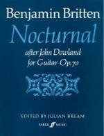 Nocturnal After John Dowland, Opus 70 - Book Sheet Music