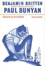 Paul Bunyan - Vocal Score Sheet Music