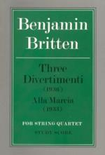 Three Divertimenti & Alla Marcia - Score Sheet Music