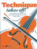 Technique Takes Off! for Violin - Book Sheet Music