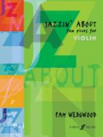Jazzin' About: Fun Pieces for Violin - Book Sheet Music