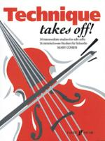 Technique Takes Off! for Cello - Book Sheet Music