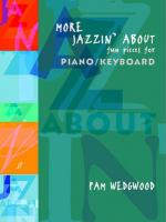 More Jazzin' About: Fun Pieces for Piano / Keyboard - Book Sheet Music