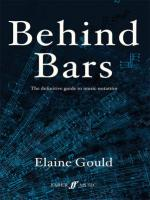 Behind Bars (The Definitive Guide to Music Notation) - Book Sheet Music
