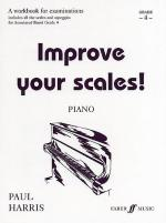 Improve Your Scales! Piano, Grade 4 (A Workbook for Examinations) Sheet Music