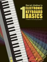 Electronic Keyboard Basics 1 (A Method for Solo and Group Learning) - Book Sheet Music
