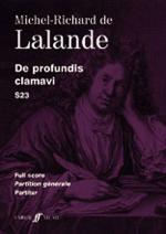 De Profundis Clamavi - Full Score Sheet Music
