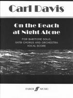On the Beach at Night Alone - Vocal Score Sheet Music