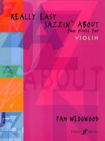 Really Easy Jazzin' About: Fun Pieces for Violin - Book Sheet Music
