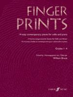 Fingerprints For Cello And Piano, Grade 1-4 - Book Sheet Music