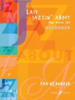 Easy Jazzin' About: Fun Pieces for Recorder - Book Sheet Music