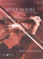 After Hours for Violin and Piano - Book & CD Sheet Music