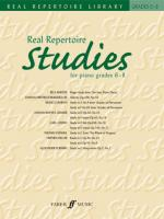 Real Repertoire Studies for Piano Grades 6-8 (Late Intermediate to Advanced) - Book Sheet Music