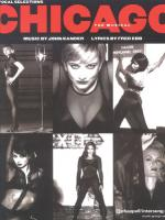Chicago: Stage Vocal Selections - Book Sheet Music