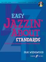 Easy Jazzin' About Standards: Favorite Jazz Standards for Piano/Keyboard (Revised) - Book & CD Sheet Music