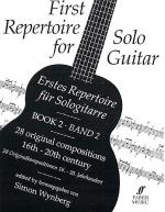First Repertoire For Solo Guitar, Book 2 Sheet Music