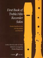 First Book of Treble / Alto Recorder Solos Sheet Music