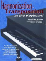 Harmonization-Transposition at the Keyboard - Book Sheet Music