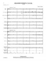 Grandfather's Clock - Score Sheet Music