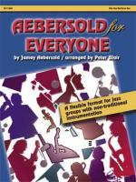 Aebersold For Everyone - Alto Saxophone / Baritone Saxophone Sheet Music