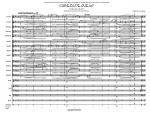 Cabeza De Queso (Cheese Head) - Score Sheet Music
