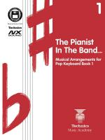 Pianist In The Band - Pop Keyboard Course 1 Technics Music Academy Sheet Music