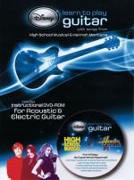 Disney Learn To Play Guitar With Songs From High School Musical And Hannah Montana Sheet Music