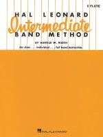Hal Leonard Intermediate Band Method Bb Bass Clarinet Sheet Music
