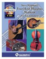 Steve Kaufman's Four-Hour Bluegrass Workout Sheet Music