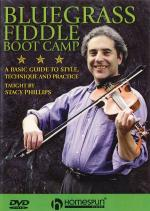 Bluegrass Fiddle Boot Camp Two-DVD Set Sheet Music