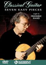 Seven Easy Pieces For Classical Guitar DVD Sheet Music