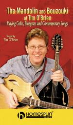 The Mandolin And Bouzouki Of Tim O'brien Playing Celtic, Bluegrass And Contemporary Songs Sheet Music