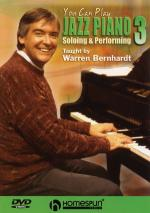You Can Play Jazz Piano DVD Three: Soloing And Performing Sheet Music
