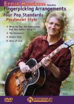 Ernie Hawkins Teaches Fingerpicking Arrangements Of Four Pop Standards - Piedmont Style Sheet Music