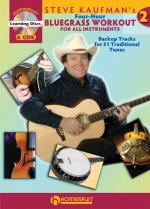 Steve Kaufman's Four-Hour Bluegrass Workout - Series Two Book/4-CD Pack Sheet Music