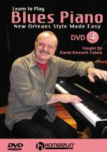 Learn To Play Blues Piano DVD 4: New Orleans Style Made Easy Sheet Music