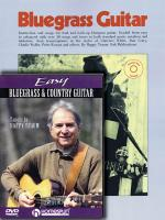 Happy Traum Bluegrass Pack Includes Bluegrass Guitar Book/CD And Easy Bluegrass And Country Guitar D Sheet Music