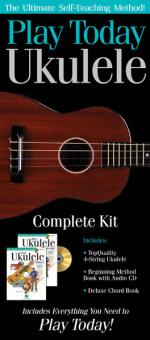 Play Ukulele Today! Complete Kit Includes Everything You Need To Play Today! Sheet Music