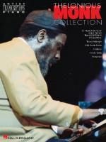 Thelonious Monk - Collection Piano Transcriptions Sheet Music