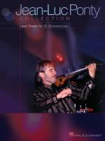 Jean-Luc Ponty Collection Lead Sheets For 22 Compositions Sheet Music