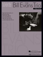 The Bill Evans Trio - Volume 3 (1968-1974) Artist Transcriptions (Piano Sheet Music