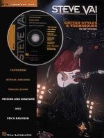 Steve Vai - Guitar Styles & Techniques Sheet Music