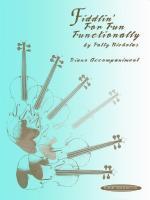 Fiddlin' for Fun Functionally - Book Sheet Music